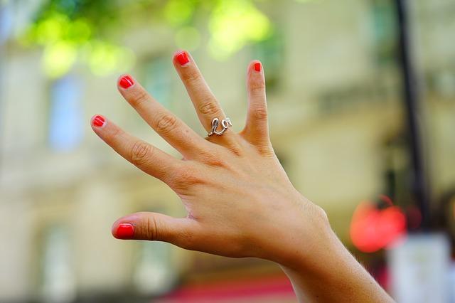 薬指 結婚イメージ