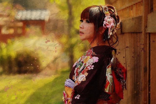 日本女性イメージ