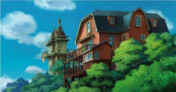 ハウルの動く城イメージ