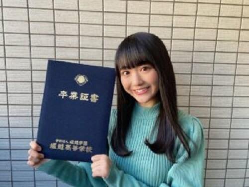 夢梨 堀越高校卒業画像